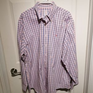 Brooks brothers xl pink shirt
